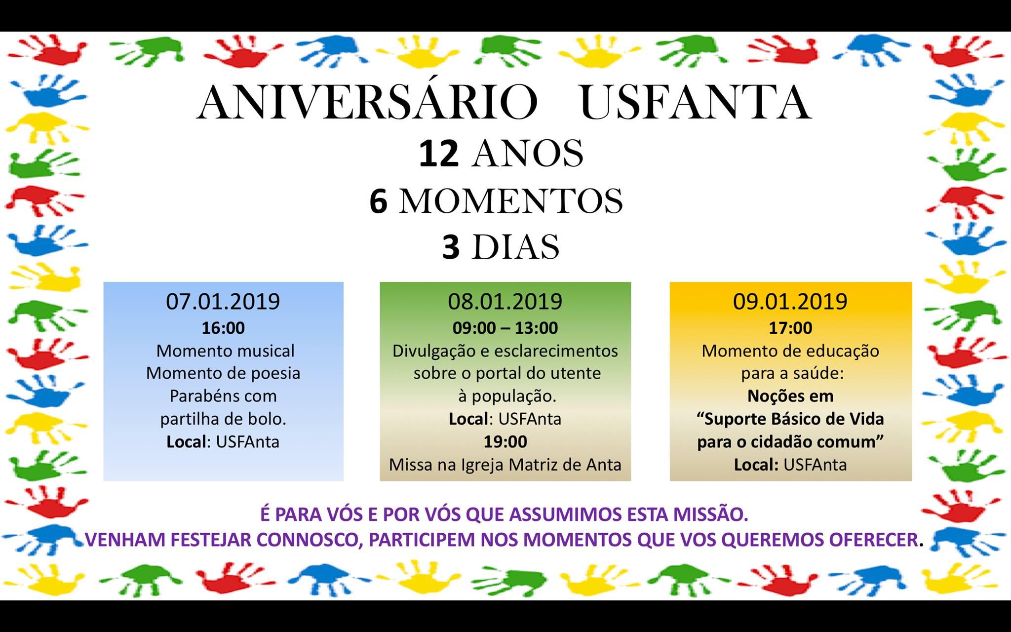 12º Aniversário da USF Anta
